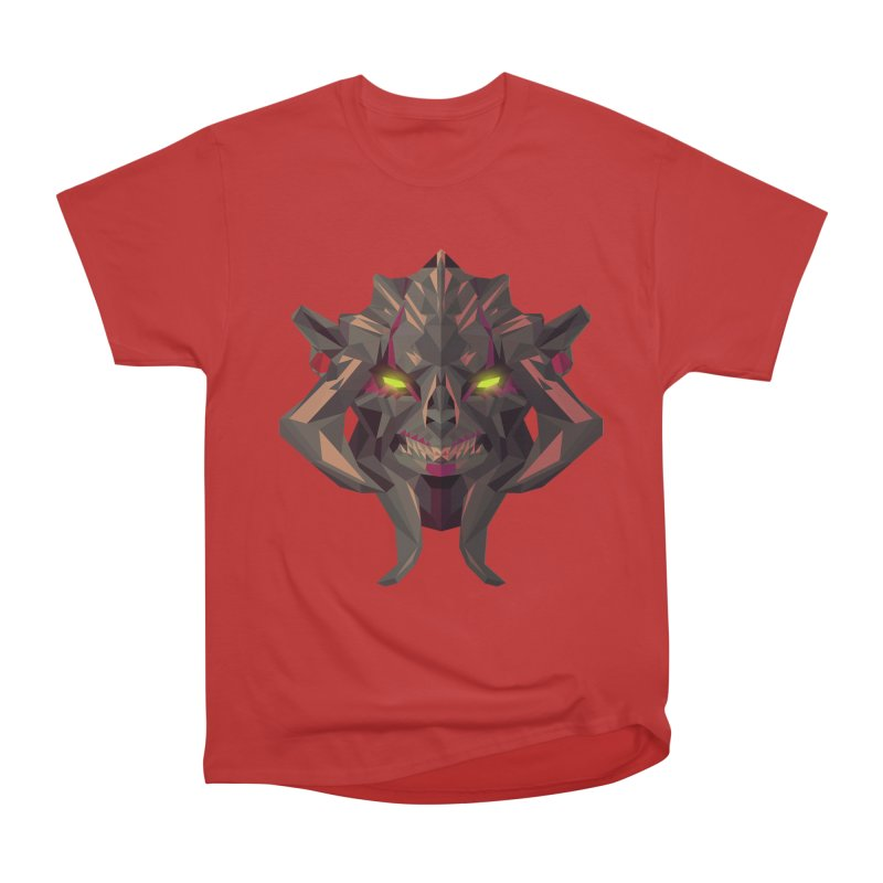 Low Poly Art - Huskar Women's Heavyweight Unisex T-Shirt by lowpolyart's Artist Shop