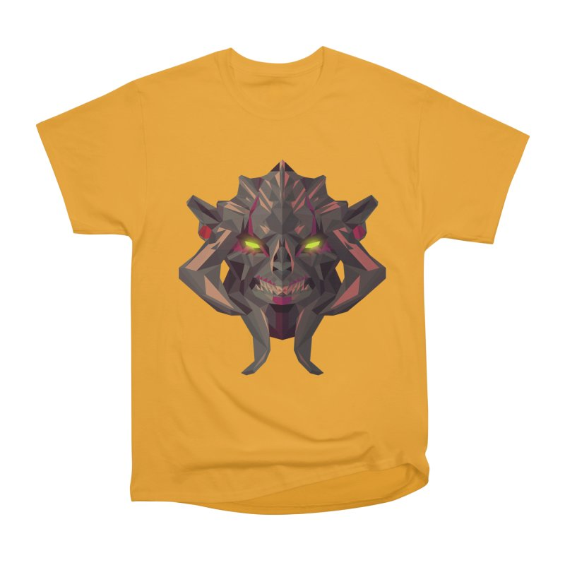 Low Poly Art - Huskar Men's Heavyweight T-Shirt by lowpolyart's Artist Shop
