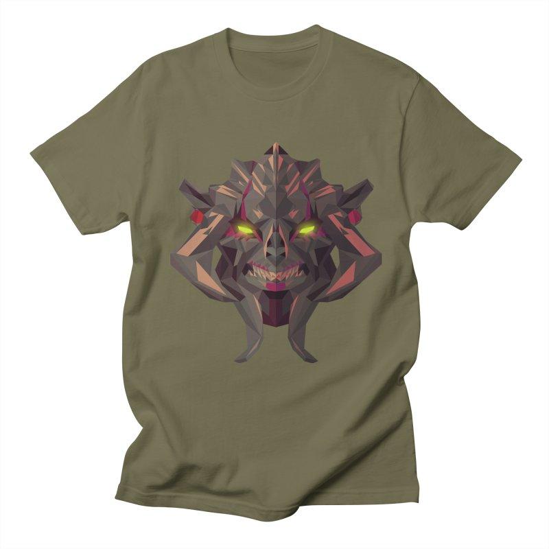 Low Poly Art - Huskar Men's Regular T-Shirt by lowpolyart's Artist Shop