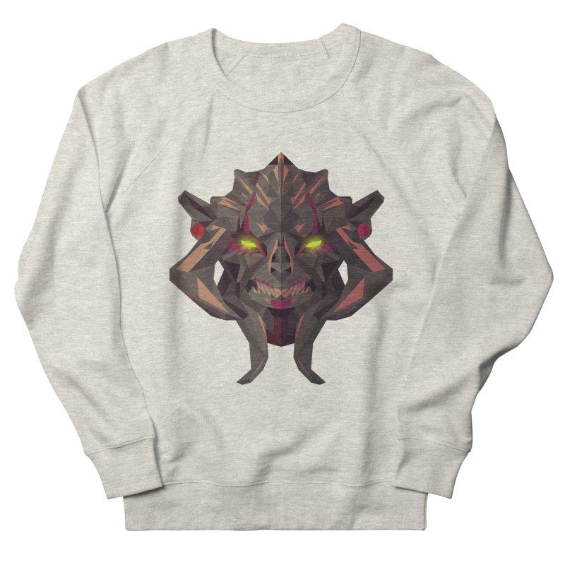 Low Poly Art - Huskar Women's French Terry Sweatshirt by lowpolyart's Artist Shop