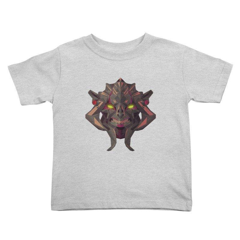 Low Poly Art - Huskar Kids Toddler T-Shirt by lowpolyart's Artist Shop