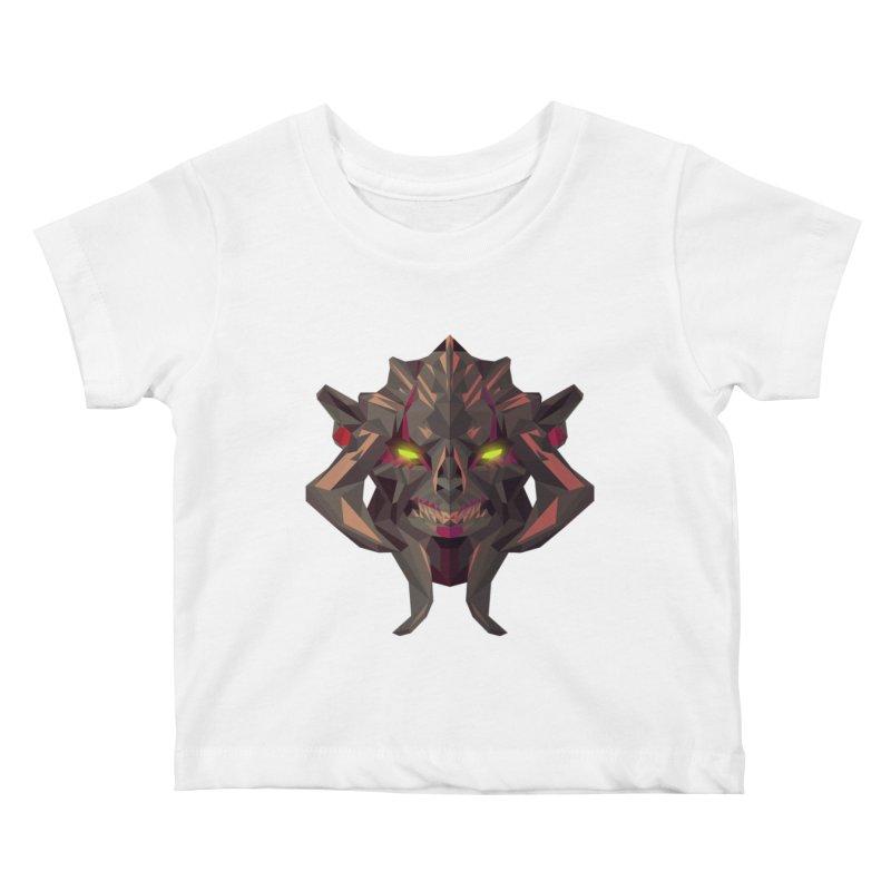 Low Poly Art - Huskar Kids Baby T-Shirt by lowpolyart's Artist Shop