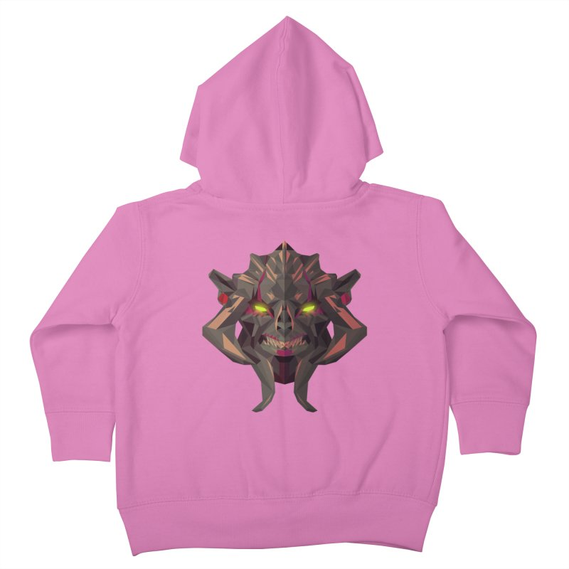 Low Poly Art - Huskar Kids Toddler Zip-Up Hoody by lowpolyart's Artist Shop