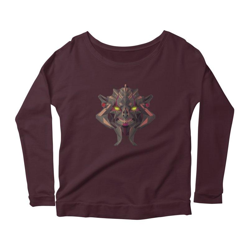 Low Poly Art - Huskar Women's Longsleeve T-Shirt by lowpolyart's Artist Shop