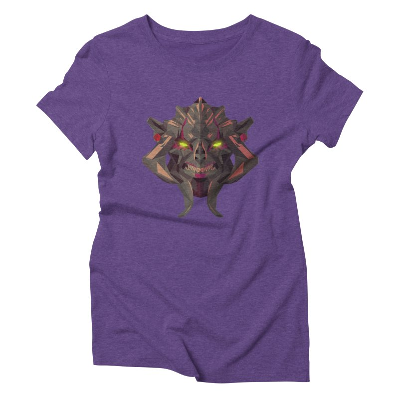 Low Poly Art - Huskar Women's Triblend T-Shirt by lowpolyart's Artist Shop