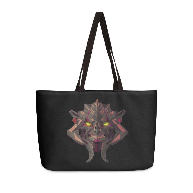 Low Poly Art - Huskar Accessories Weekender Bag Bag by lowpolyart's Artist Shop