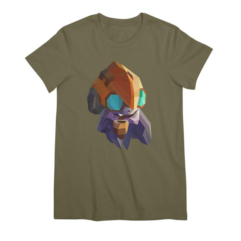 Low Poly Art - Tinker Women's Premium T-Shirt by lowpolyart's Artist Shop
