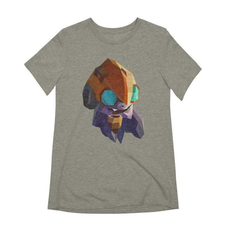 Low Poly Art - Tinker Women's Extra Soft T-Shirt by lowpolyart's Artist Shop