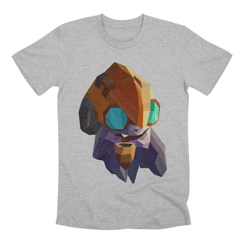 Low Poly Art - Tinker Men's Premium T-Shirt by lowpolyart's Artist Shop