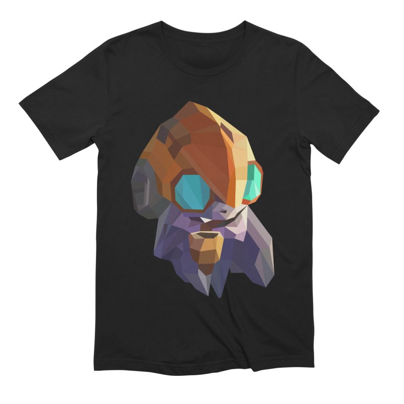 Low Poly Art - Tinker in Men's Extra Soft T-Shirt Black by lowpolyart's Artist Shop
