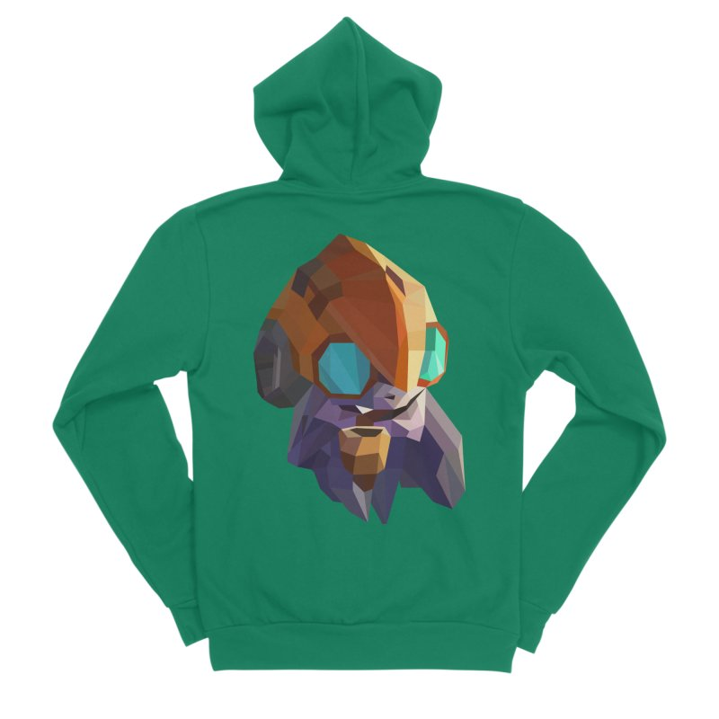 Low Poly Art - Tinker Women's Sponge Fleece Zip-Up Hoody by lowpolyart's Artist Shop