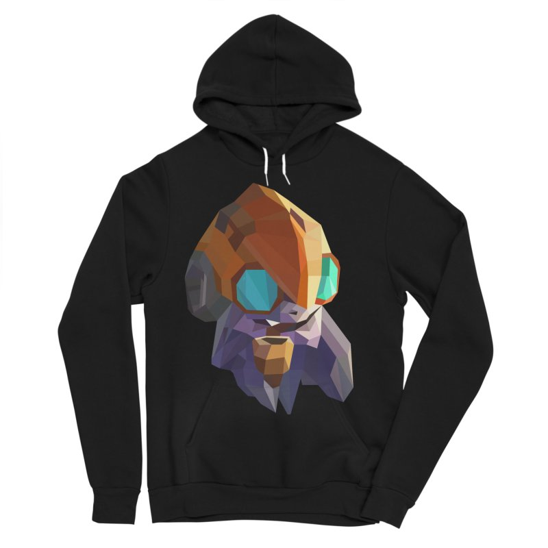 Low Poly Art - Tinker Women's Sponge Fleece Pullover Hoody by lowpolyart's Artist Shop