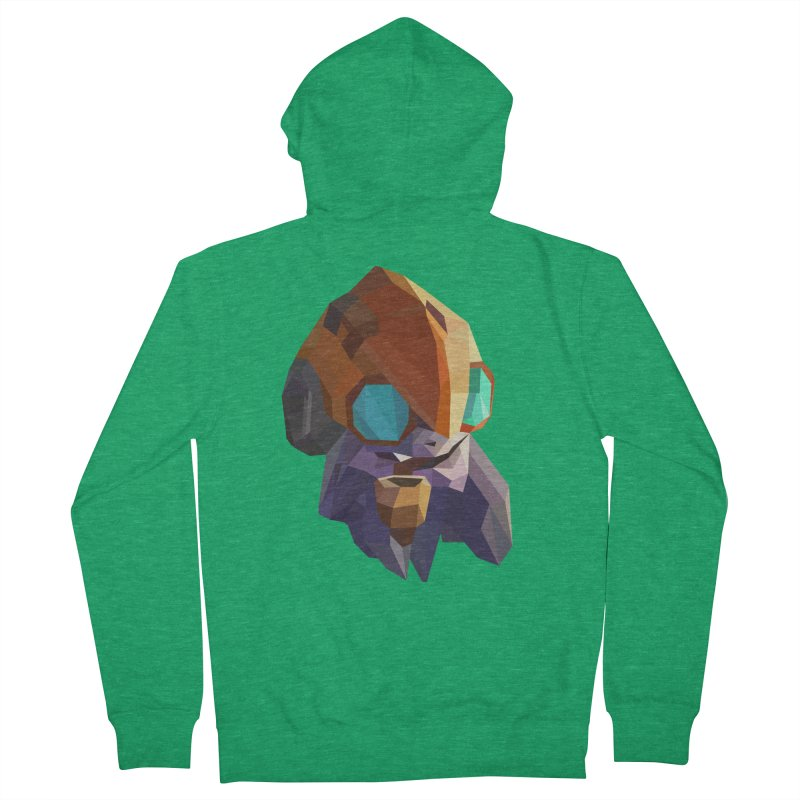 Low Poly Art - Tinker Women's Zip-Up Hoody by lowpolyart's Artist Shop