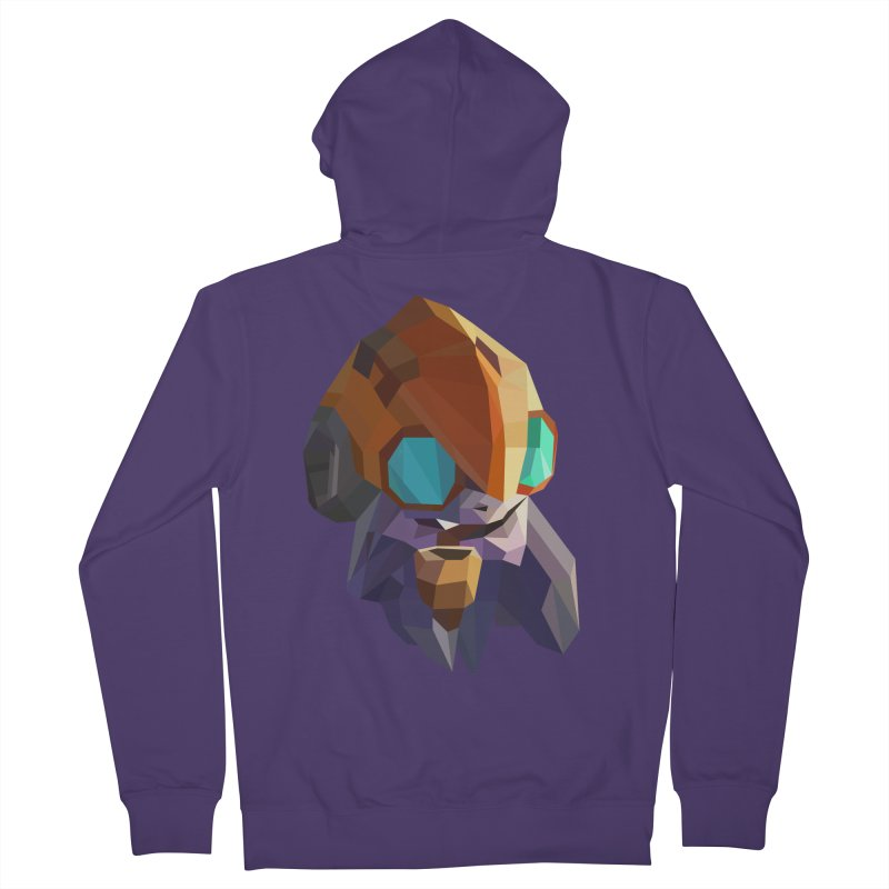 Low Poly Art - Tinker Women's French Terry Zip-Up Hoody by lowpolyart's Artist Shop