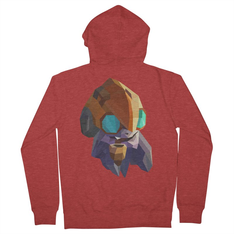 Low Poly Art - Tinker Men's French Terry Zip-Up Hoody by lowpolyart's Artist Shop