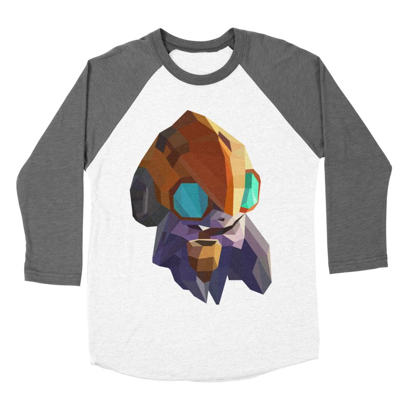 Low Poly Art - Tinker Women's Baseball Triblend Longsleeve T-Shirt by lowpolyart's Artist Shop