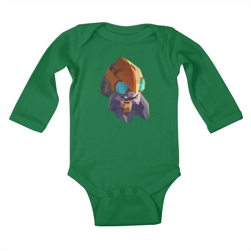 Low Poly Art - Tinker Kids Baby Longsleeve Bodysuit by lowpolyart's Artist Shop
