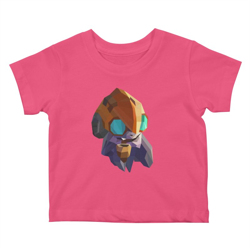 Low Poly Art - Tinker Kids Baby T-Shirt by lowpolyart's Artist Shop