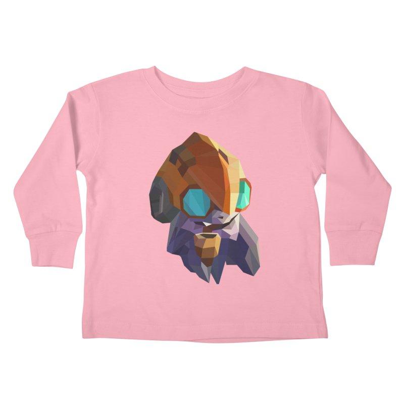 Low Poly Art - Tinker Kids Toddler Longsleeve T-Shirt by lowpolyart's Artist Shop