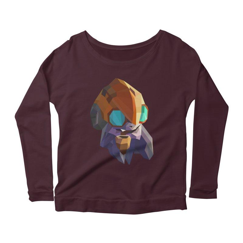 Low Poly Art - Tinker Women's Scoop Neck Longsleeve T-Shirt by lowpolyart's Artist Shop