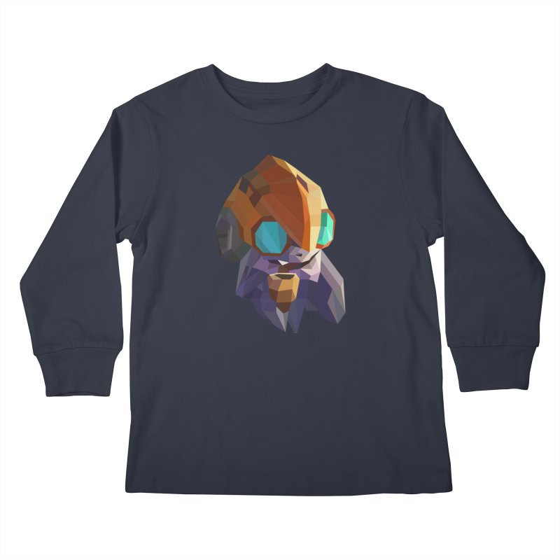 Low Poly Art - Tinker Kids Longsleeve T-Shirt by lowpolyart's Artist Shop
