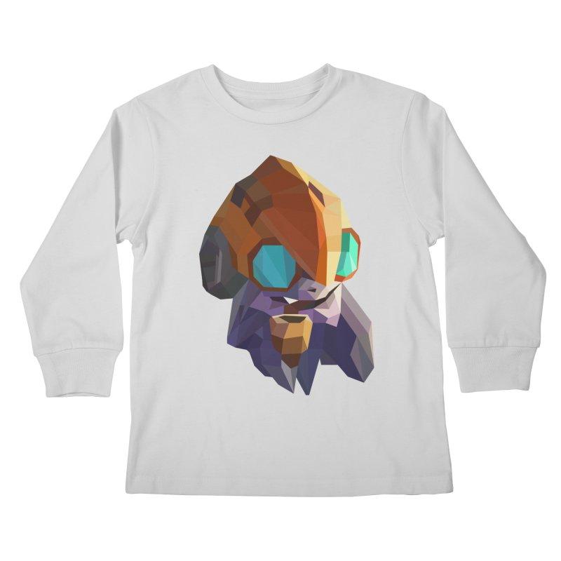 Low Poly Art - Tinker Kids Longsleeve T-Shirt by lowpolyart's Artist Shop