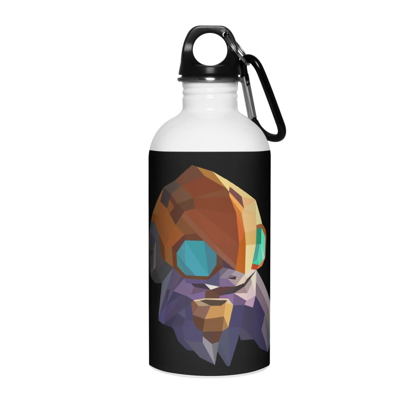 Low Poly Art - Tinker Accessories Water Bottle by lowpolyart's Artist Shop