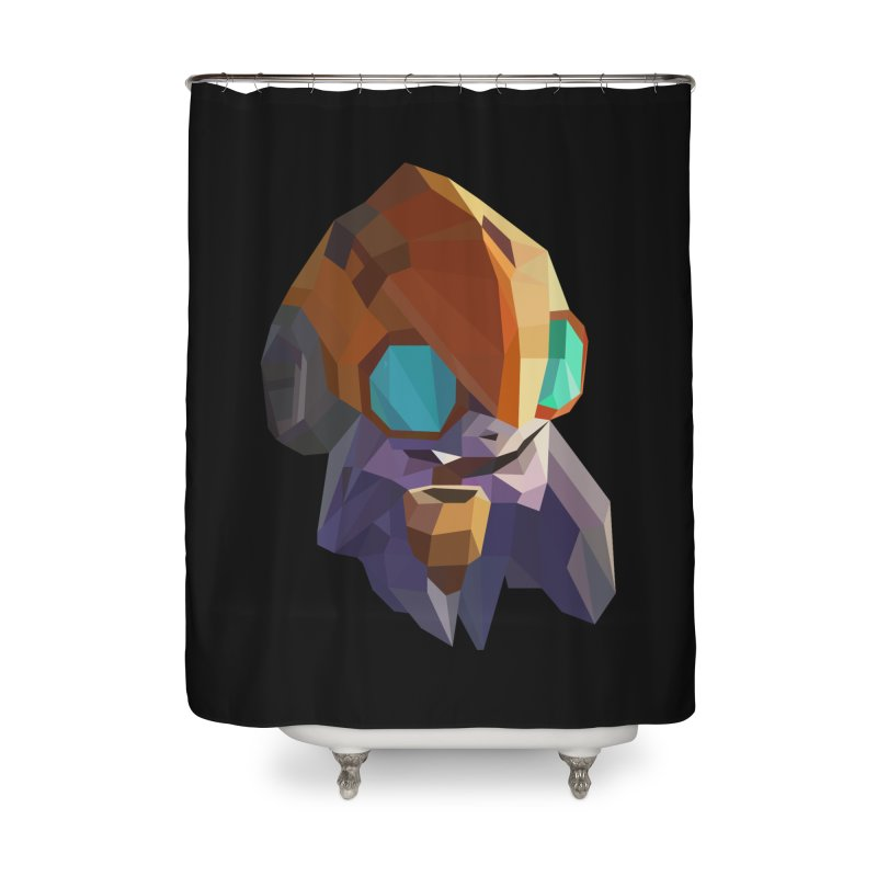 Low Poly Art - Tinker Home Shower Curtain by lowpolyart's Artist Shop