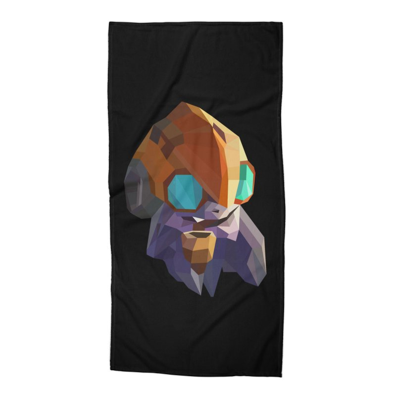 Low Poly Art - Tinker Accessories Beach Towel by lowpolyart's Artist Shop