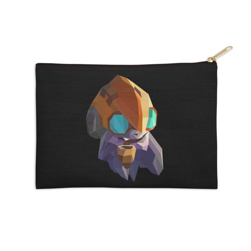Low Poly Art - Tinker Accessories Zip Pouch by lowpolyart's Artist Shop