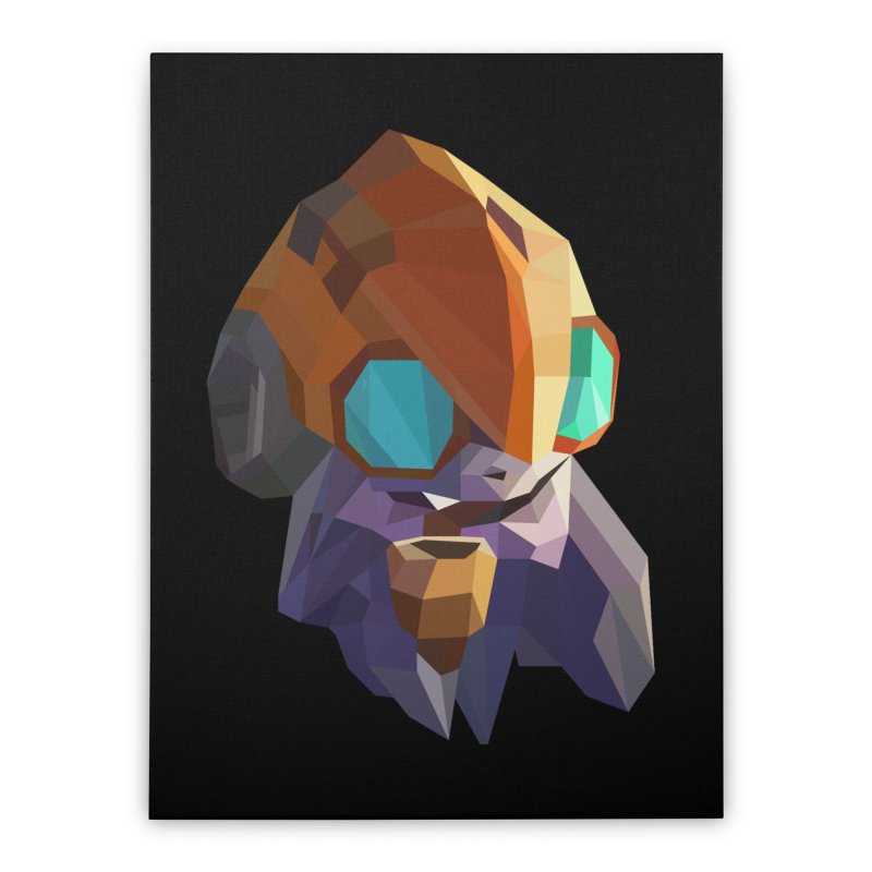 Low Poly Art - Tinker Home Stretched Canvas by lowpolyart's Artist Shop