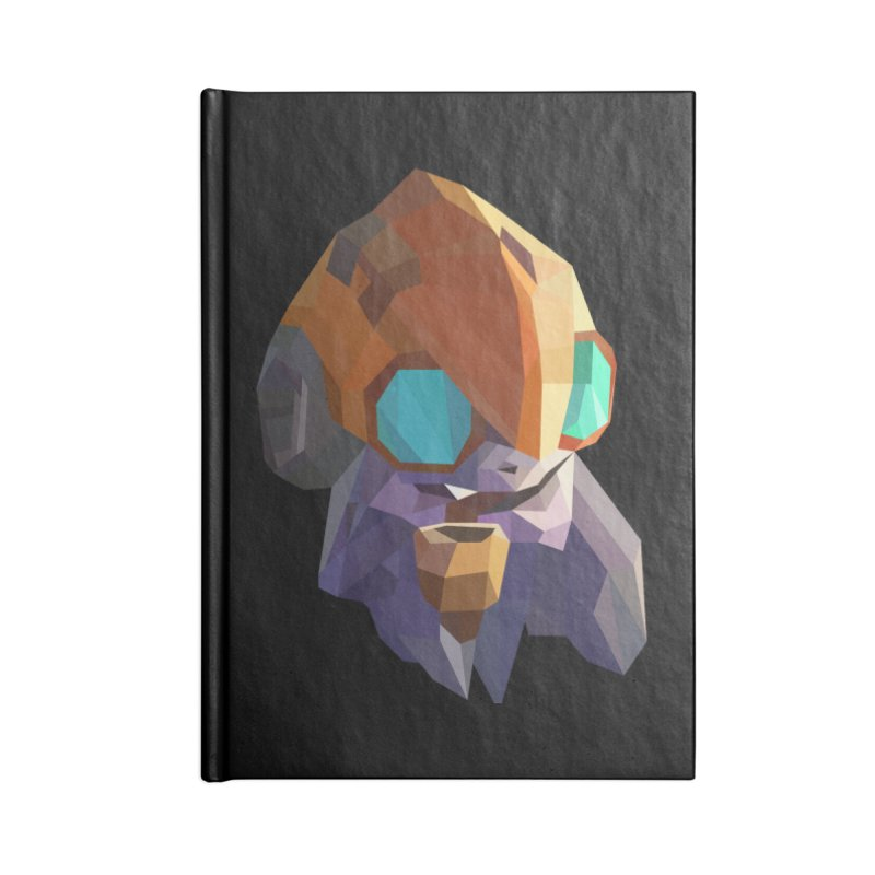 Low Poly Art - Tinker Accessories Lined Journal Notebook by lowpolyart's Artist Shop