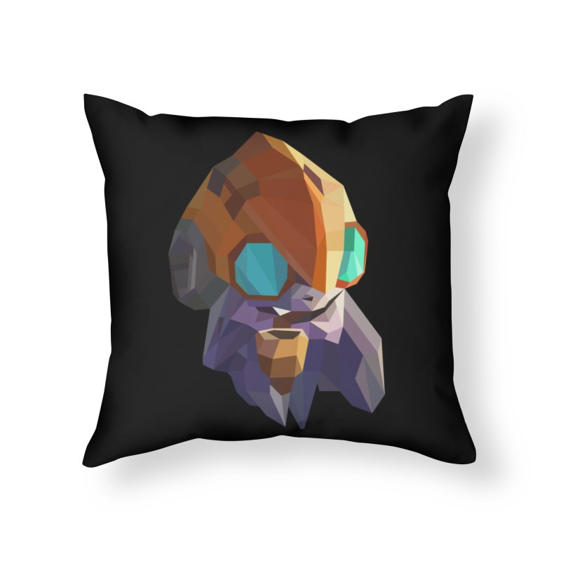 Low Poly Art - Tinker Home Throw Pillow by lowpolyart's Artist Shop