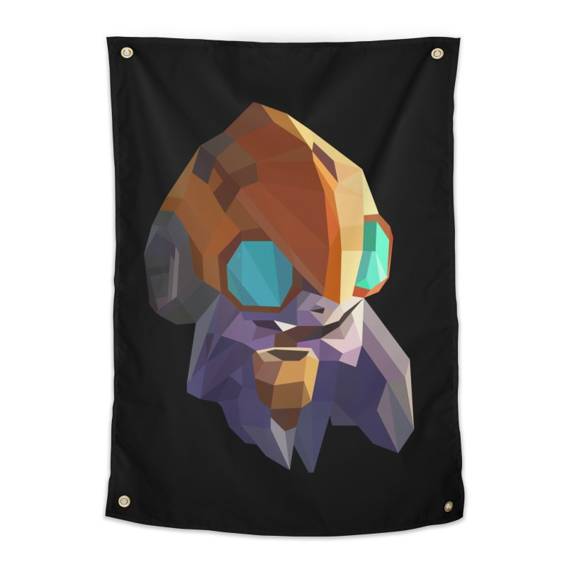 Low Poly Art - Tinker Home Tapestry by lowpolyart's Artist Shop