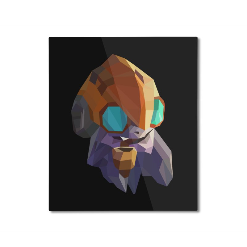 Low Poly Art - Tinker Home Mounted Aluminum Print by lowpolyart's Artist Shop