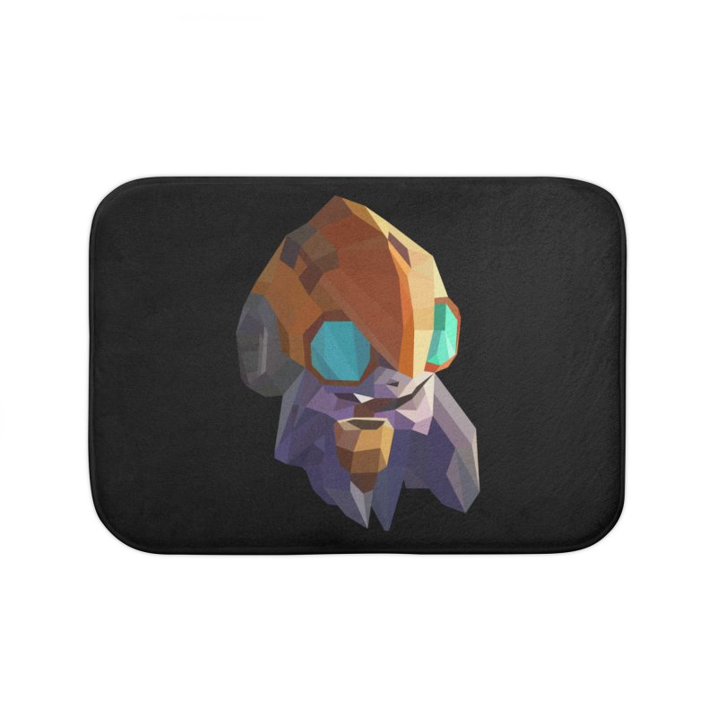 Low Poly Art - Tinker Home Bath Mat by lowpolyart's Artist Shop