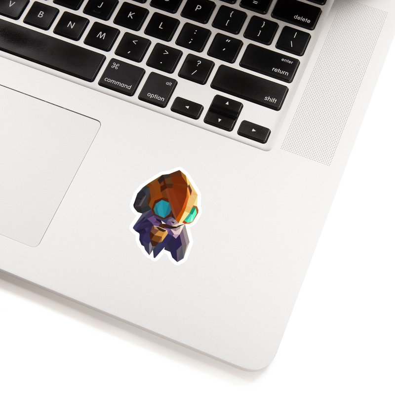 Low Poly Art - Tinker Accessories Sticker by lowpolyart's Artist Shop