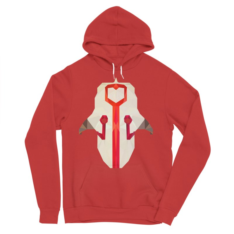 Low Poly Art - Juggernaut Men's Pullover Hoody by lowpolyart's Artist Shop
