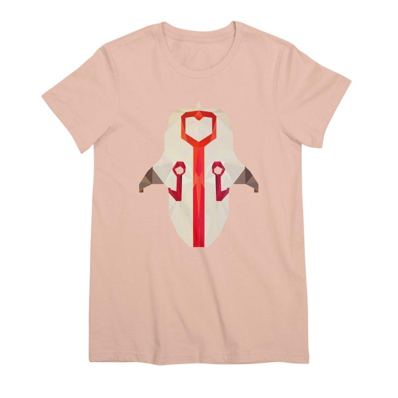 Low Poly Art - Juggernaut Women's Premium T-Shirt by lowpolyart's Artist Shop