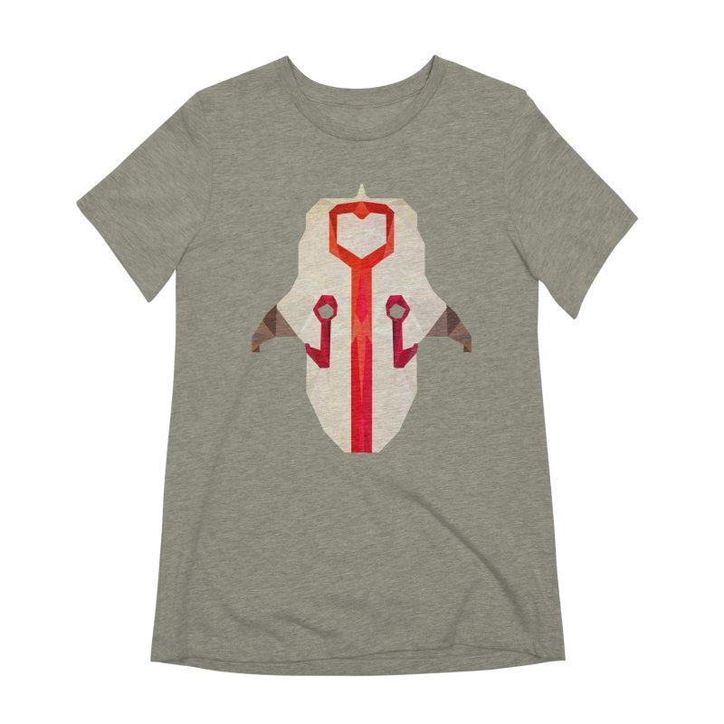 Low Poly Art - Juggernaut Women's Extra Soft T-Shirt by lowpolyart's Artist Shop