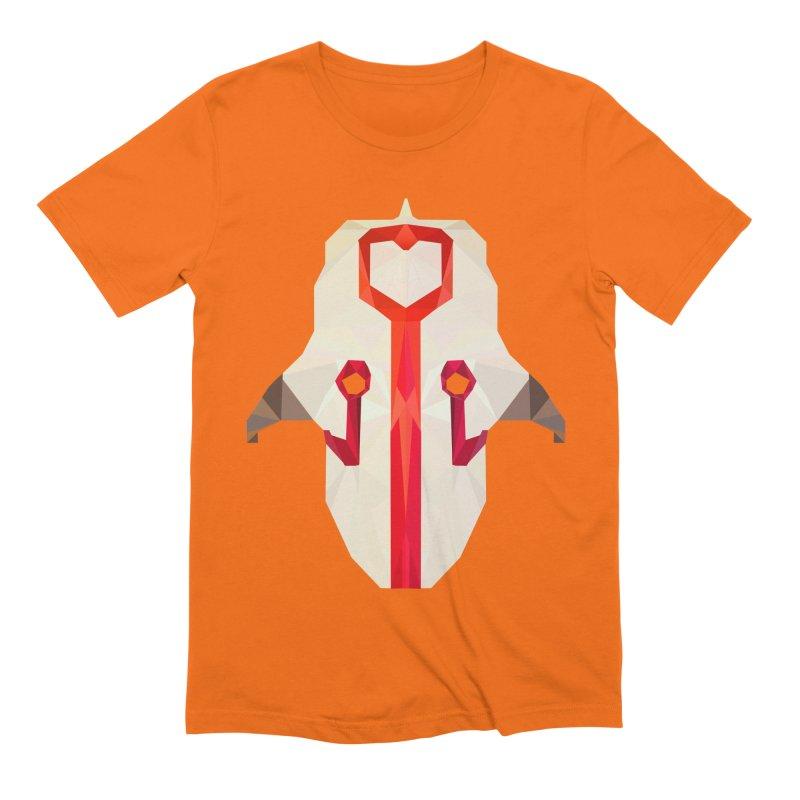 Low Poly Art - Juggernaut Men's Extra Soft T-Shirt by lowpolyart's Artist Shop