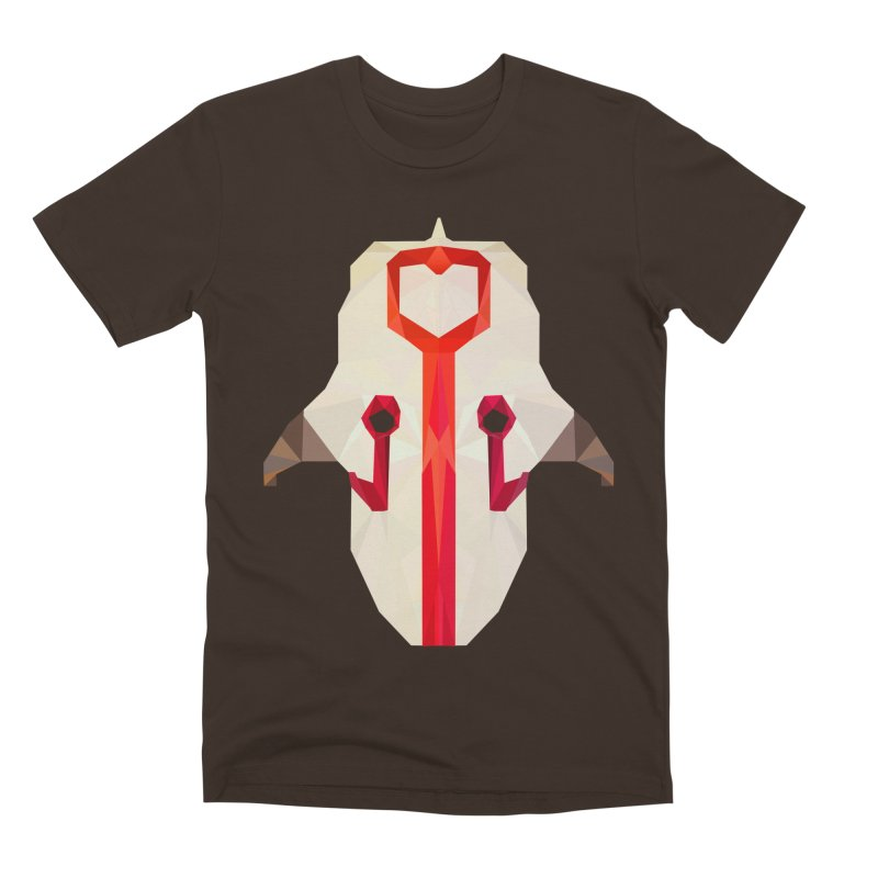 Low Poly Art - Juggernaut Men's Premium T-Shirt by lowpolyart's Artist Shop