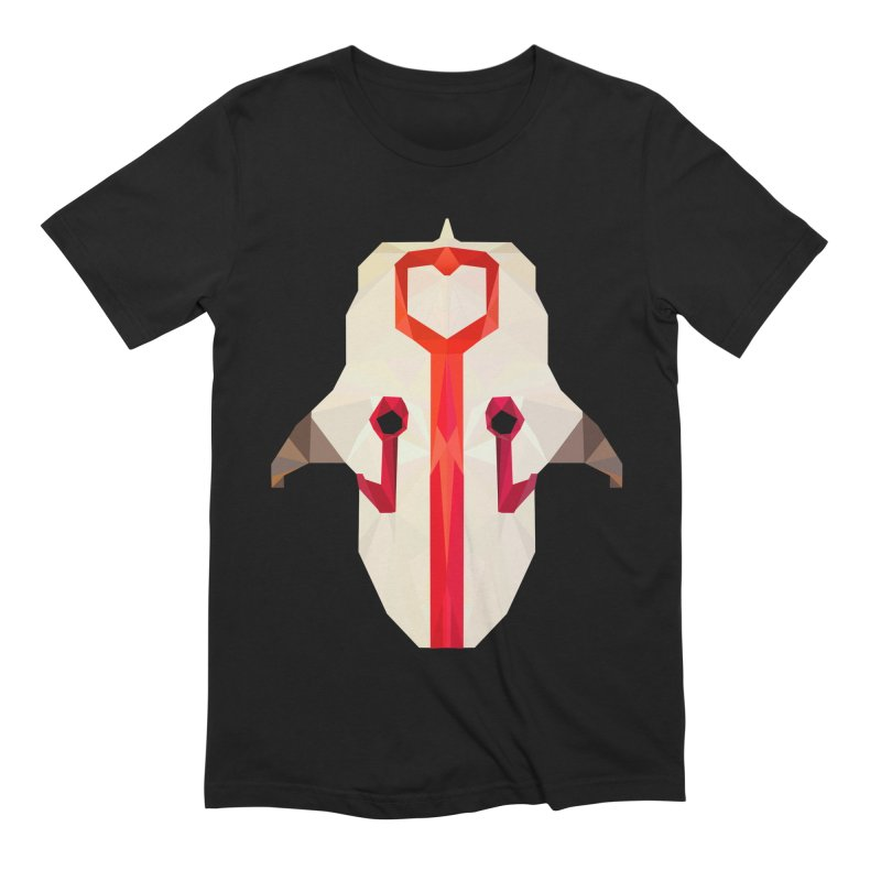 Low Poly Art - Juggernaut in Men's Extra Soft T-Shirt Black by lowpolyart's Artist Shop