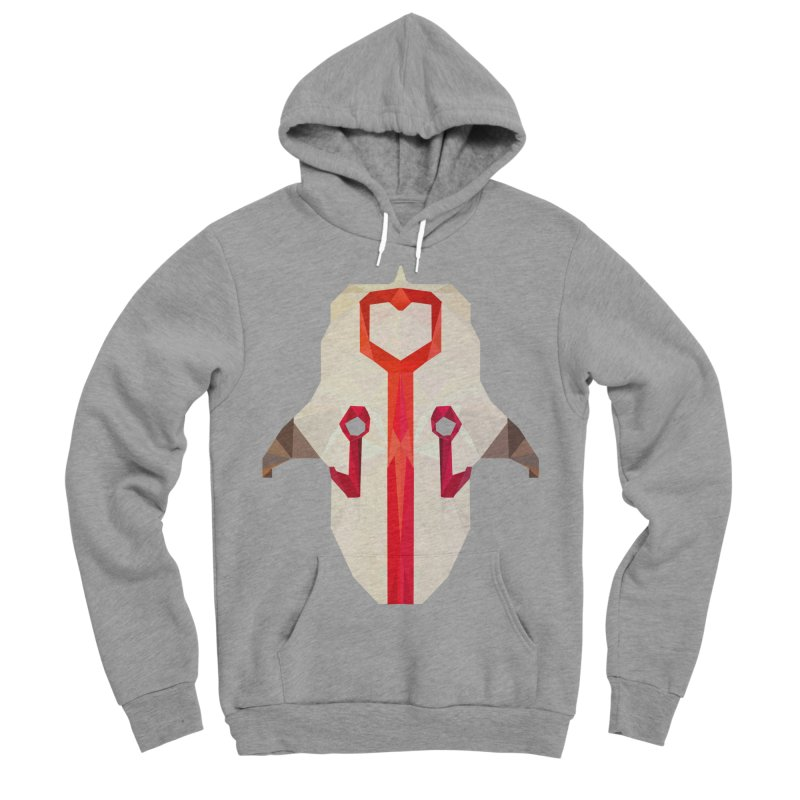 Low Poly Art - Juggernaut Women's Sponge Fleece Pullover Hoody by lowpolyart's Artist Shop