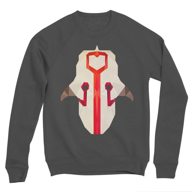Low Poly Art - Juggernaut Women's Sponge Fleece Sweatshirt by lowpolyart's Artist Shop