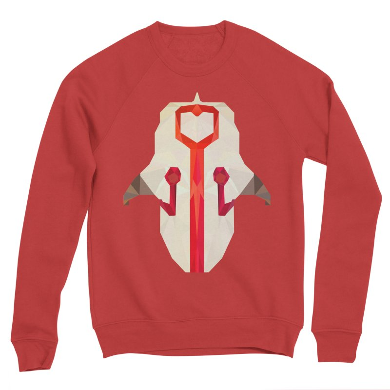 Low Poly Art - Juggernaut Men's Sponge Fleece Sweatshirt by lowpolyart's Artist Shop