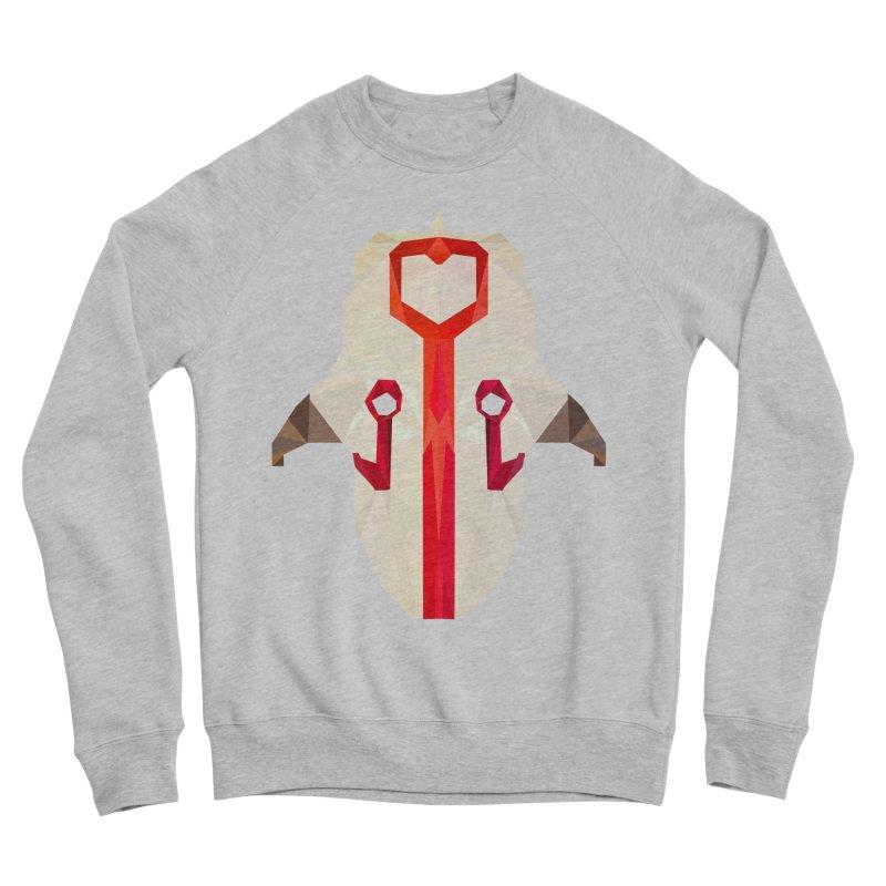 Low Poly Art - Juggernaut Men's Sponge Fleece Sweatshirt by lowpolyart's Artist Shop