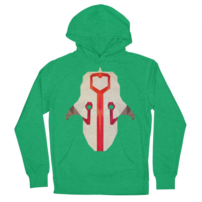 Low Poly Art - Juggernaut Women's French Terry Pullover Hoody by lowpolyart's Artist Shop