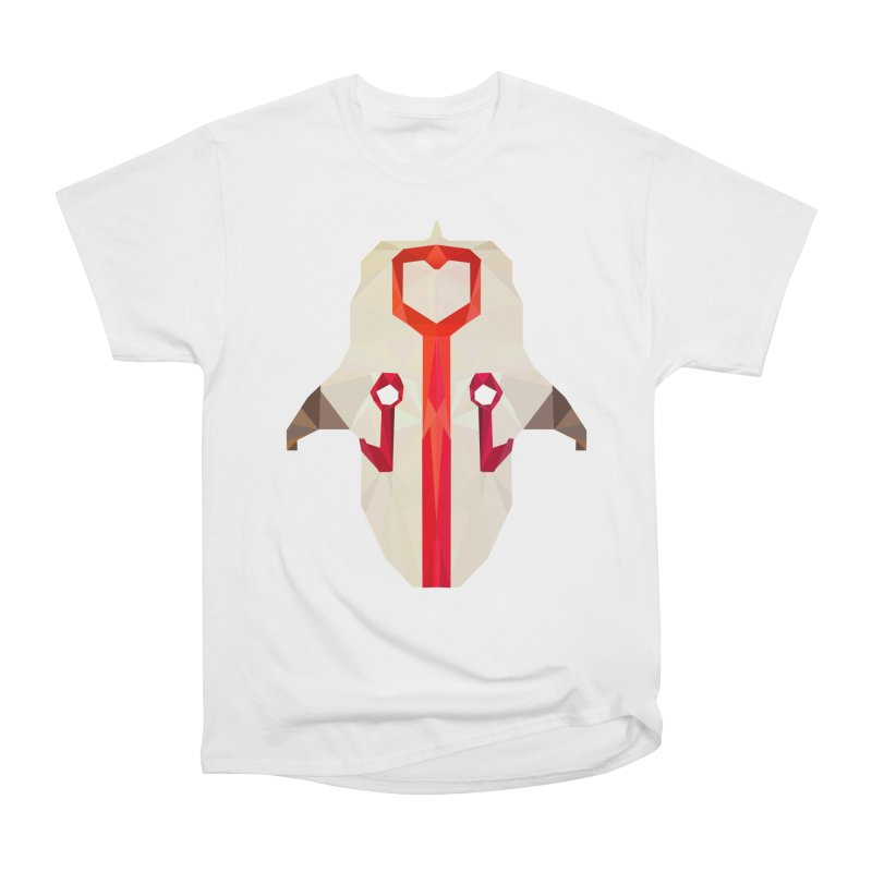 Low Poly Art - Juggernaut Women's Heavyweight Unisex T-Shirt by lowpolyart's Artist Shop