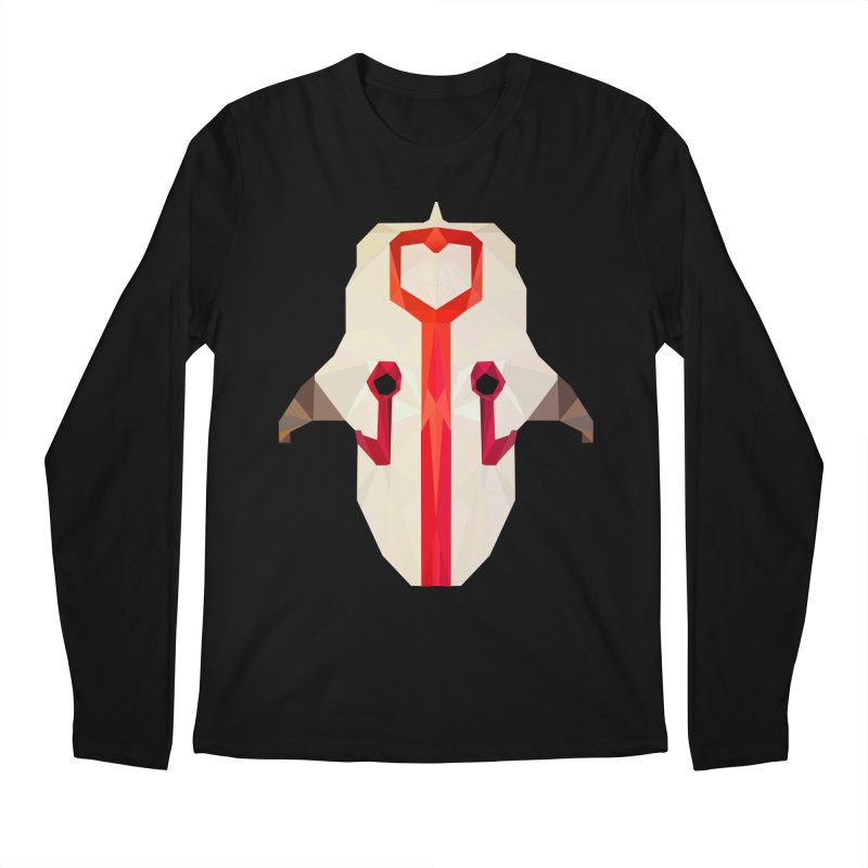 Low Poly Art - Juggernaut Men's Regular Longsleeve T-Shirt by lowpolyart's Artist Shop